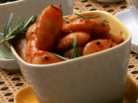 Dicke Bohnen in Tomatensauce
