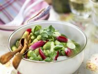 Dicke Bohnen-Radieschen-Salat Rezept