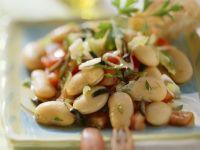 Dicke-Bohnen-Salat nach griechischer Art Rezept