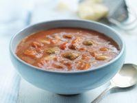 Dicke Gemüsesuppe mit Hackbällchen Rezept