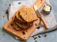 Dinkel-Hafer-Brot mit Kürbis Rezept