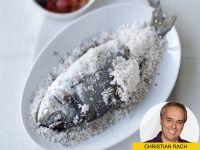 Köstliches zum Abend: Dorade in der Salzkruste