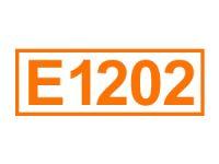 E 1202 (Polyvinylpolypyrrolidon)