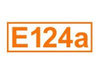 E 124 a (Cochenillerot A)