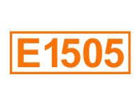 E 1505 (Triethylcitrat)