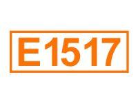 E 1517 (Glycerindiacetat)
