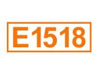 E 1518 (Glycerintriacetat)