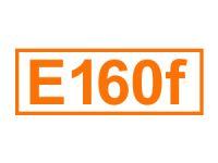 E 160 f (Apocarotinester)