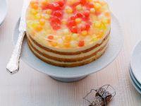 Edle Melonen-Frischkäse-Torte Rezept