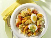 Eier-Gemüse-Curry Rezept