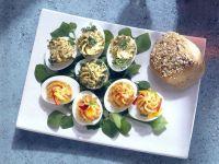 Eier mit Füllung Rezept