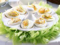 Eier mit Kaviar Rezept