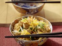 Eiernudeln mit Gemüse-Tofu Rezept