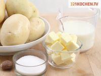 Einfaches Kartoffelpüree