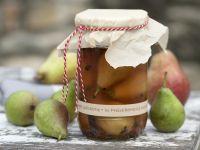 Eingelegte Birnen Rezept