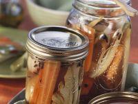 Eingemachtes Fenchel-Möhren-Gemüse Rezept
