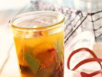 Eingeweckte Früchte mit Senf Rezept
