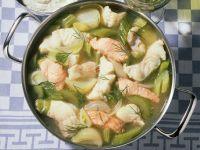 Eintopf mit Fisch Rezept