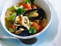 Eintopf mit Meeresfrüchten Rezept