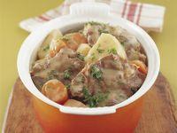 Eintopf nach irischer Art mit Karotten und Kartoffeln Rezept