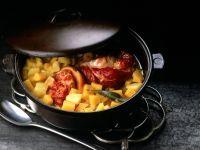 Eisbein mit Steckrüben und Kartoffeln Rezept