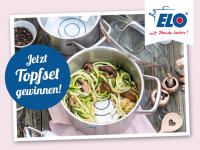 Jetzt gewinnen: Edelstahl-Topfset der ELO Smart Collection
