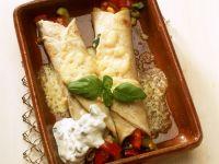 Enchiladas gefüllt mit Gemüse Rezept