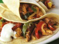 Enchiladas mit Hähnchen-Gemüsefüllung Rezept