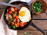 Englisches Frühstück – vegetarisch Rezept