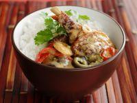 Ente in Currysauce Rezept