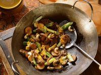 Ente mit Gemüse aus dem Wok Rezept