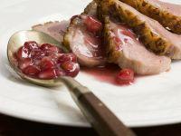 Entenbrust mit Granatapfelsoße Rezept