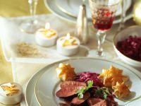 Entenbrust mit Rotweinsauce Rezept