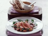 Entenbrust mit Schalotten und Zuckerschoten Rezept