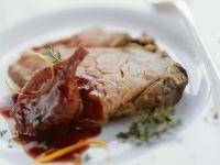 Entrecote mit Rotwein-Schalotte Rezept