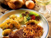 Entrecôtes mit Kartoffeln Rezept