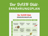 DASH-Diät: Der Ernährungsplan