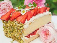 Erdbeer-Biskuit-Kuchen Rezept