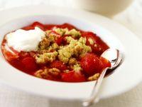 Erdbeer-Crumble Rezept