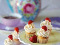 Erdbeer-Cupcakes Rezept