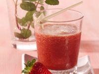 Erdbeer-Gurken-Shake Rezept
