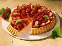Erdbeer-Kiwi-Kuchen Rezept