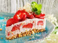 Erdbeer-Milchreis-Torte