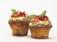 Erdbeer-Muffins mit Limette Rezept