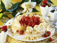 Erdbeer-Nuss-Torte