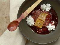 Erdbeer-Orangen-Schale mit Frischkäse Rezept