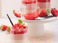 Erdbeer-Panna-Cotta Rezept