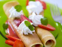 Erdbeer-Pfannkuchen Rezept