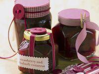 Erdbeer-Rhabarber-Konfitüre Rezept