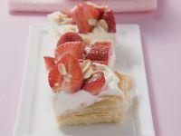 Erdbeer-Sahne-Schnitten Rezept